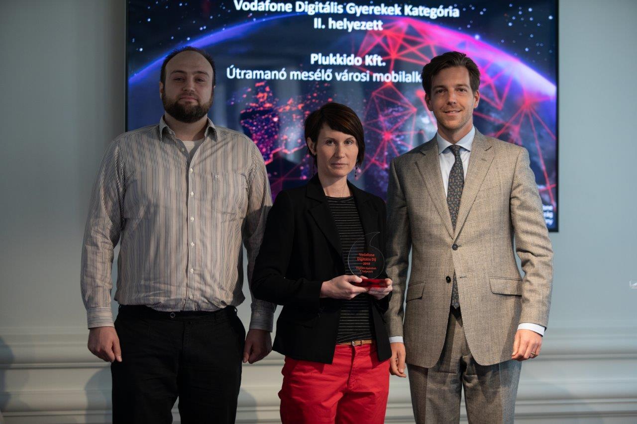 ebb8228b57 IoT és VR alapú megoldások is nyertek a Vodafone Digitális Díjon